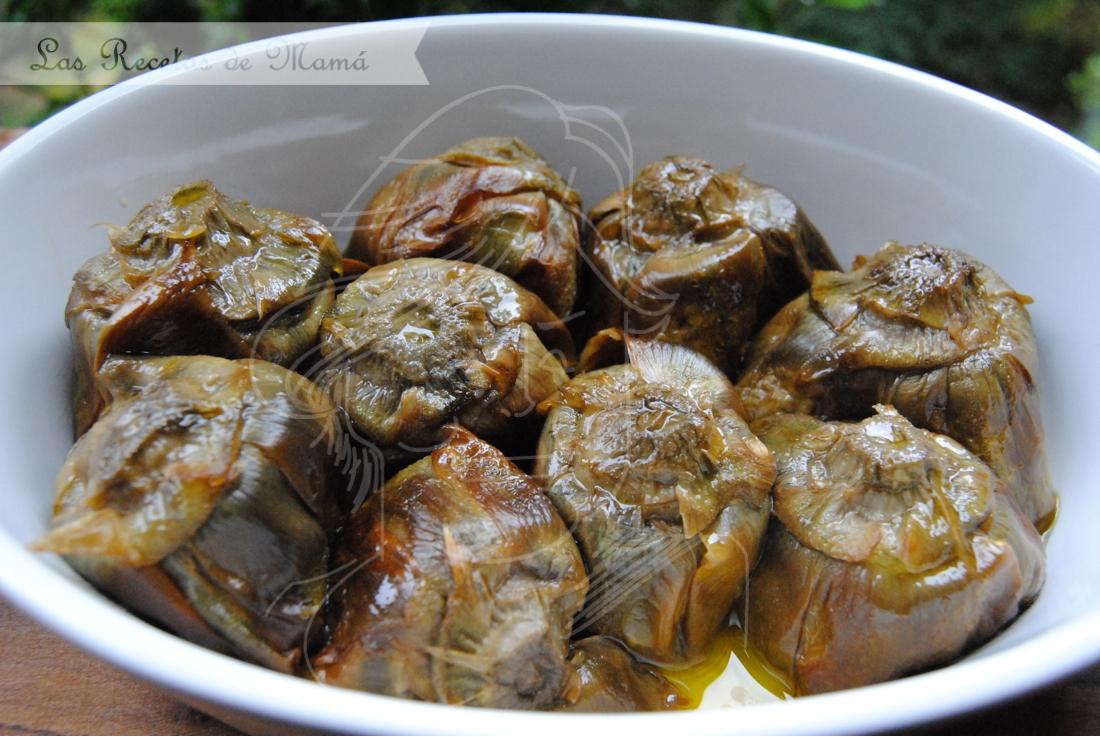 Las alcachofas de casa las recetas de mam - Se pueden congelar las almejas crudas ...