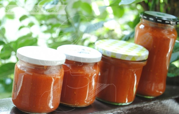 Tomates Al Baño Maria | Salsa De Tomate Tomate Frito Casero Las Recetas De Mama