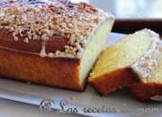Plum cake de almendra