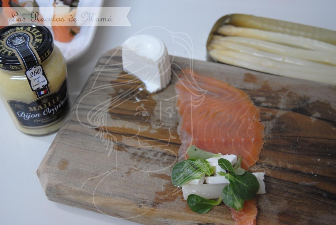 Rollitos de salmón | Las Recetas de Mamá