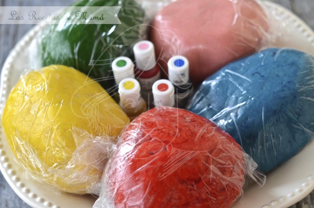 Galletas de colores   Las Recetas de Mamá