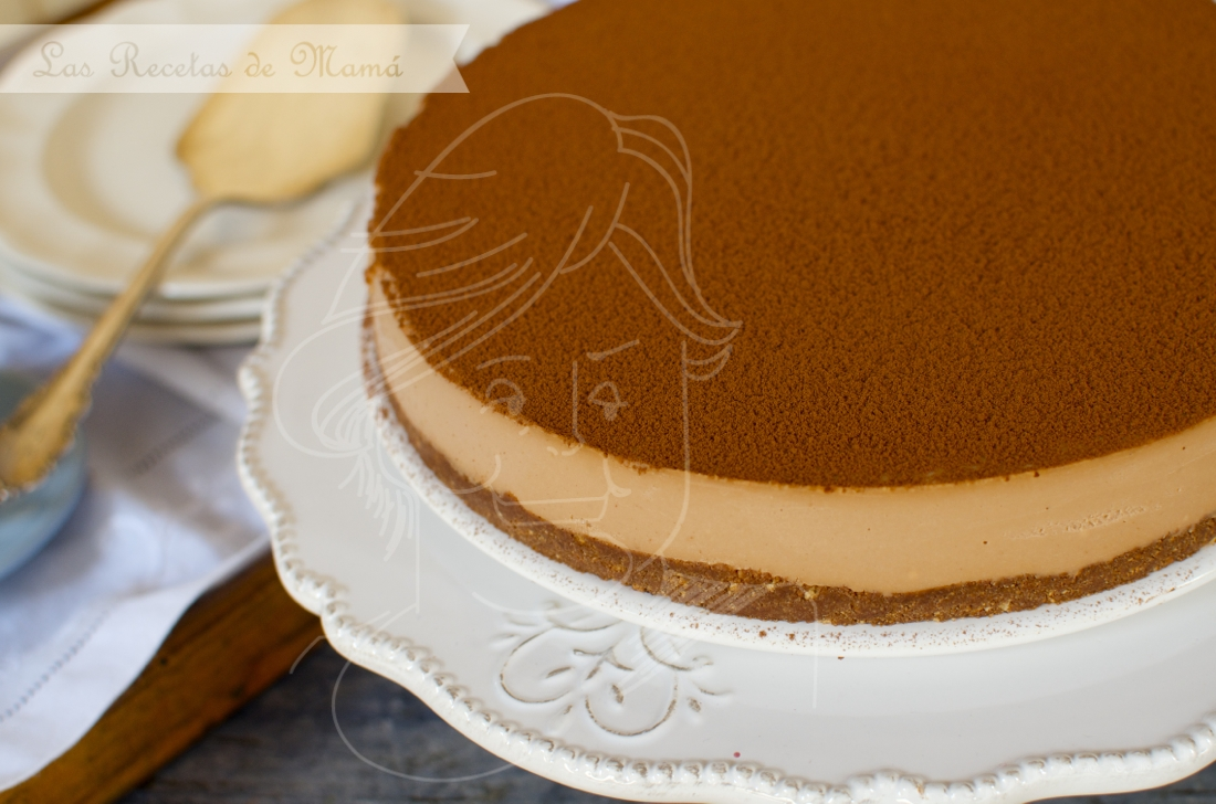 Cheesecake de toffee y chocolate. Video receta