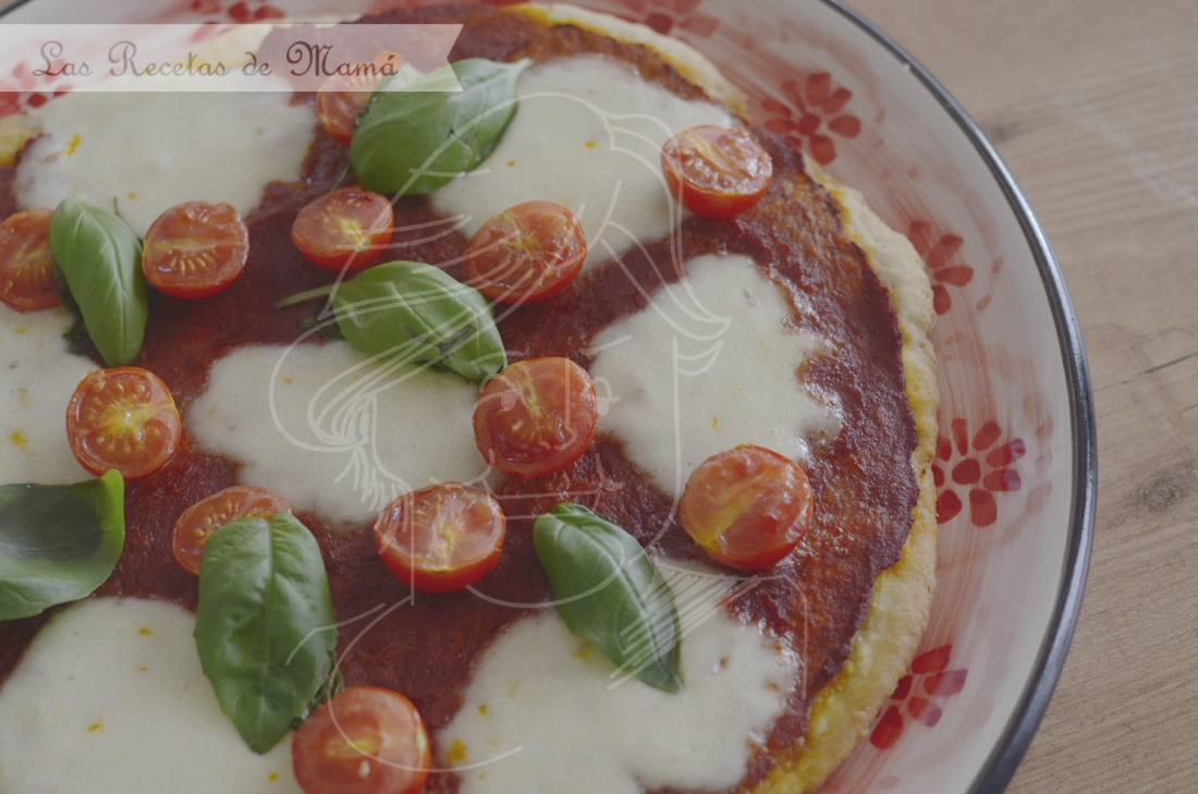 Pizza margarita. Video receta