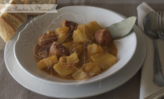 Patatas a la Riojana. Video receta