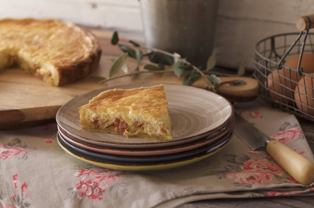 Quiche Lorraine. Video receta