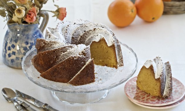 Bundt Cake de Naranja. Video receta