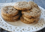 Galletas con gotitas de chocolate