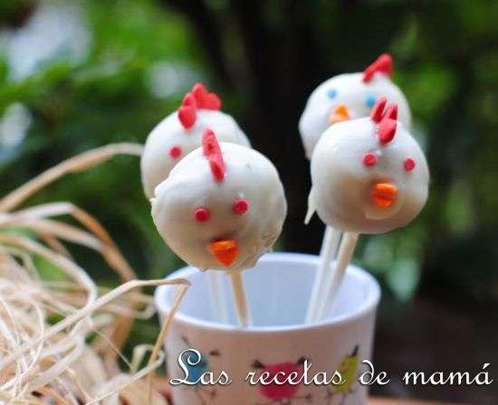 Cake pops las recetas de mam for Cobertura para cake pops