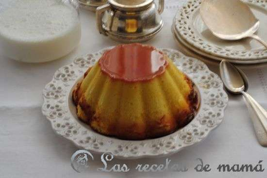 Flan de queso. Video receta