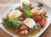 Ensalada caprese. Video receta.