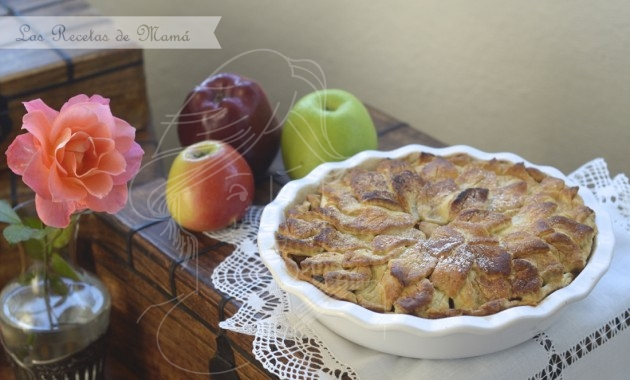 Pastel de manzana – American Apple Pie. Video receta