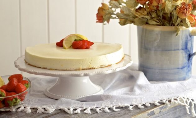 Tarta mousse de limon. Video receta