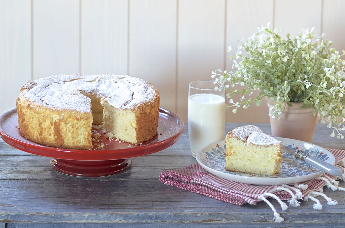 Angel Food Cake. Video receta